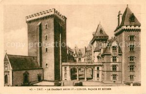 AK / Ansichtskarte Pau Chateau Henri IV  Kat. Pau