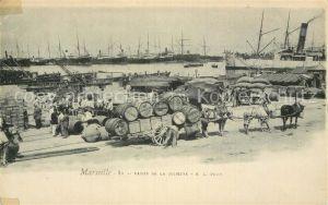 AK / Ansichtskarte Marseille Bouches du Rhone Bassin de la Joliette