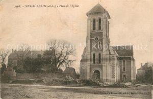 AK / Ansichtskarte Soeurdres Place de l Eglise Kat. Soeurdres