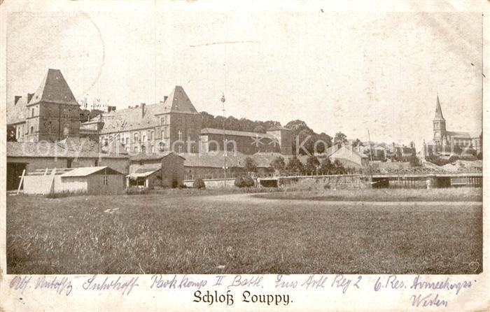 AK / Ansichtskarte Louppy le Chateau Schloss Kat. Louppy le Chateau