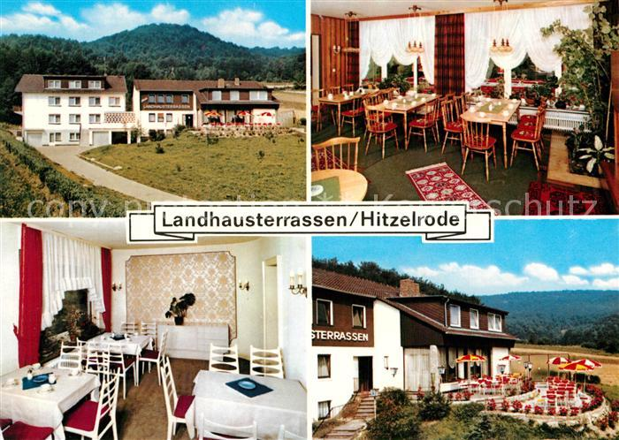AK / Ansichtskarte Hitzelrode Landhausterrassen Kat. Meinhard