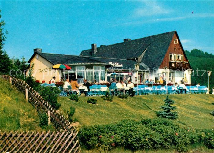 AK / Ansichtskarte Schulenberg Oberharz Hotel Gaststaette Tanneck Kat. Schulenberg im Oberharz