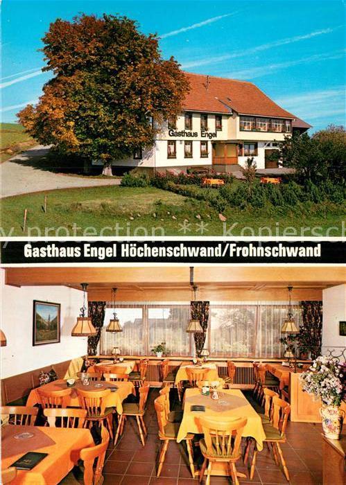 AK / Ansichtskarte Hoechenschwand Gasthaus Engel Kat. Hoechenschwand