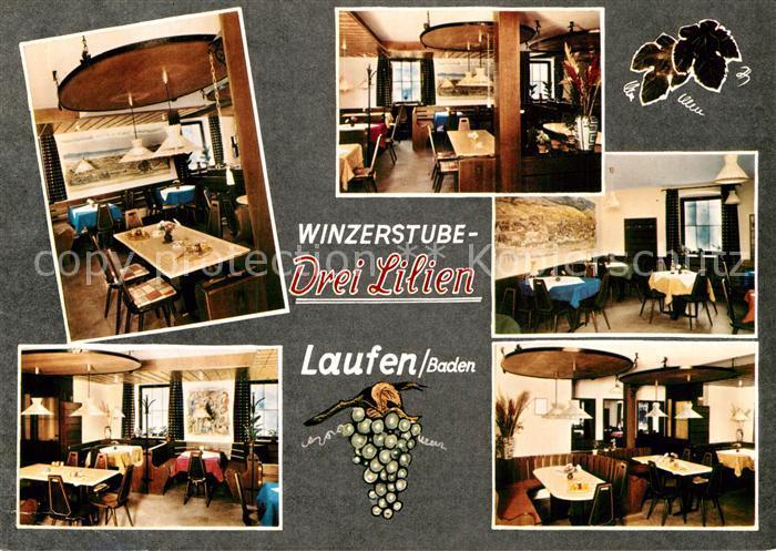 AK / Ansichtskarte Laufen Sulzburg Winzerstube Drei Lilien Kat. Sulzburg