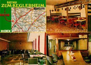 AK / Ansichtskarte Bremen Gasthof Zum Keglerheim Kat. Bremen
