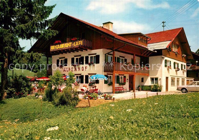 Hotel Pension Alpenhof Ofterschwang