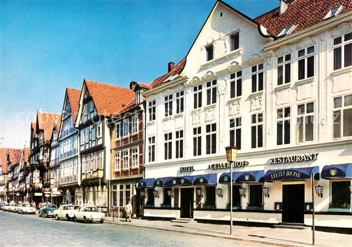 Ak Ansichtskarte Celle Niedersachsen Hotel Celler Hof Kat Celle