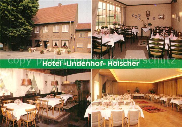 AK / Ansichtskarte Oelde Hotel Lindenhof Hoelscher Gastraeume Speisesaal Kat. Oelde