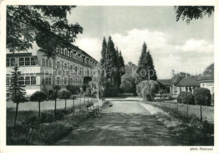 AK / Ansichtskarte Langensteinbach Karlsbad Parkanlagen Kat. Karlsbad