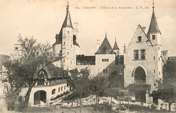 AK / Ansichtskarte La Rochepot Chateau de la Roche Pot Kat. La Rochepot