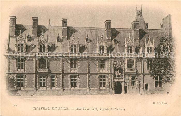 AK / Ansichtskarte Blois Loir et Cher Chateau de Blois Kat. Blois