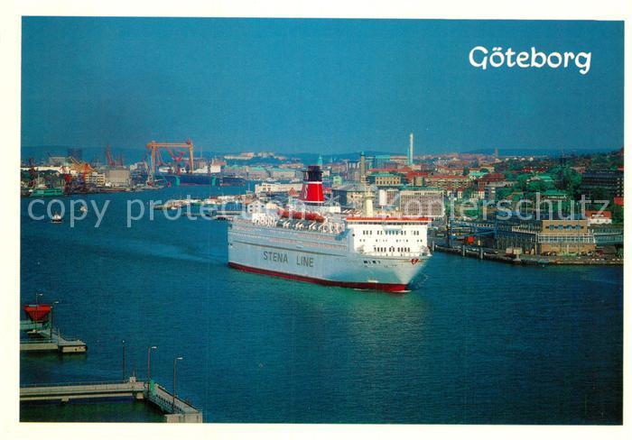 AK / Ansichtskarte Goeteborg Hafeneinfahrt  Kat.
