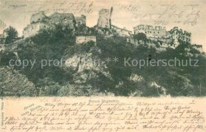 AK / Ansichtskarte St Goar Ruine Rheinfels Kat. Sankt Goar