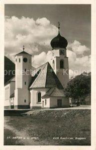 AK / Ansichtskarte St Anton Arlberg Kirche Kat. St. Anton am Arlberg