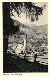AK / Ansichtskarte Landeck Tirol Teilansicht  Kat. Landeck