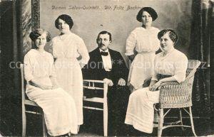 AK / Ansichtskarte Wilhelmshaven Damen Salon Quintett Dir. Fritz Bochmann Gruppenbild Kat. Wilhelmshaven