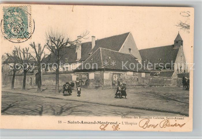 AK / Ansichtskarte Saint Amand Montrond Hospice Kat. Saint Amand Montrond