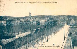 AK / Ansichtskarte Aix en Provence Panorama sud est Boulevard du Roi Rene Kat. Aix en Provence