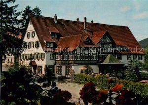 AK / Ansichtskarte Klosterreichenbach Klostergasthof Hotel Sonne Post Kat. Baiersbronn