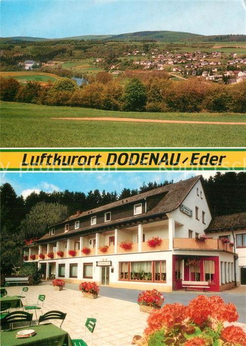 AK / Ansichtskarte Dodenau Panorama Ponyhof Waldpension Ederblick Kat. Battenberg (Eder)