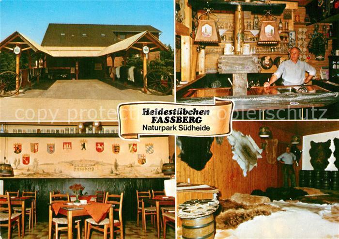 AK / Ansichtskarte Fassberg Heidestuebchen Fassberg Bar Gaststube Kat. Fassberg