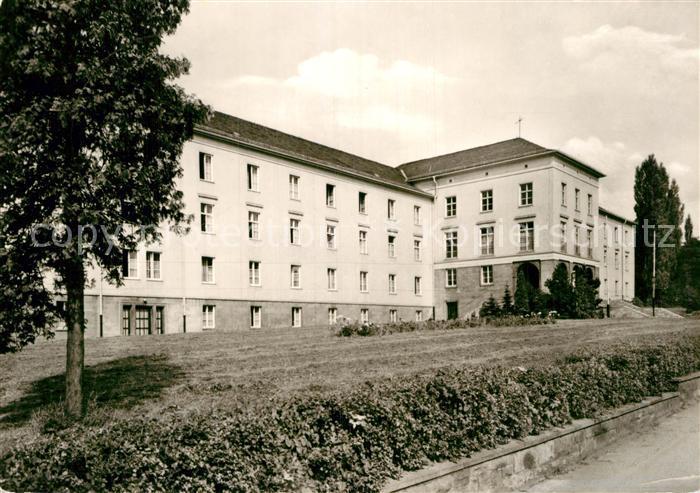 AK / Ansichtskarte Gotha Thueringen Fachschule fuer Finanzwirtschaft Kat. Gotha