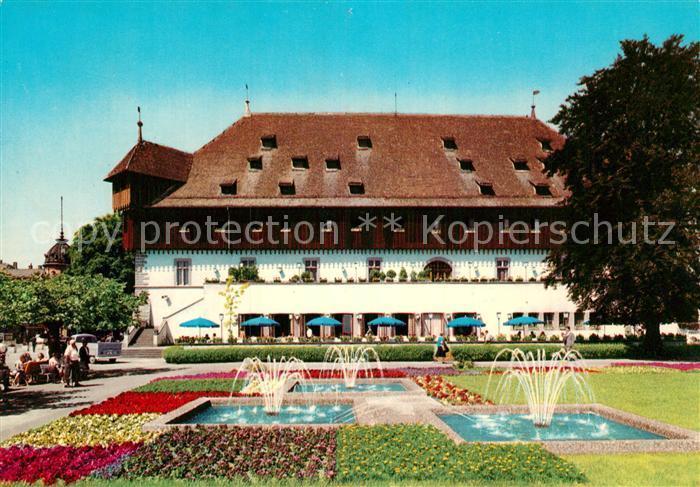 AK / Ansichtskarte Konstanz Bodensee Konzil Wasserspiele Kat. Konstanz