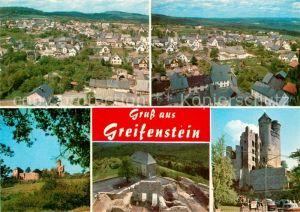 AK / Ansichtskarte Greifenstein Hessen Panorama Schloss Kat. Greifenstein