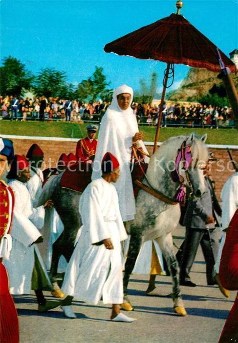 AK / Ansichtskarte Adel Majeste Hassan II Kat. Koenigshaeuser
