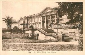 AK / Ansichtskarte Compiegne Oise Chateau Kat. Compiegne