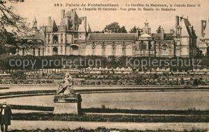 AK / Ansichtskarte Fontainebleau Seine et Marne Palais de Fontainebleau Pavillon de Maintenon  Kat. Fontainebleau