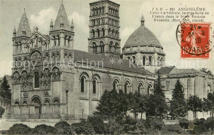 AK / Ansichtskarte Angouleme Cathedrale Kat. Angouleme