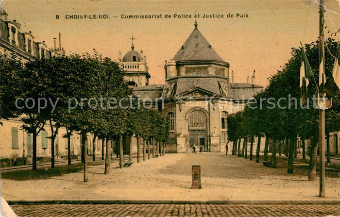 AK / Ansichtskarte Choisy le Roi Commissariat de Police et Justice de Paix Kat. Choisy le Roi