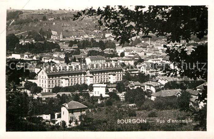 AK / Ansichtskarte Bourgoin Jallieu Vue d ensemble Kat. Bourgoin Jallieu