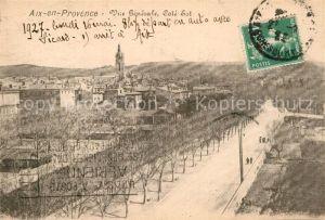 AK / Ansichtskarte Aix en Provence Vue generale Cote Est Kat. Aix en Provence