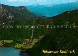 AK / Ansichtskarte Walchensee Kraftwerk Panorama Kat. Kochel a.See