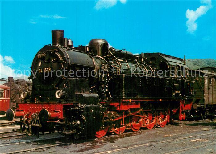AK / Ansichtskarte Lokomotive Gueterzug Tenderlokomotive 941539 Deutsche Bundesbahn  Kat. Eisenbahn
