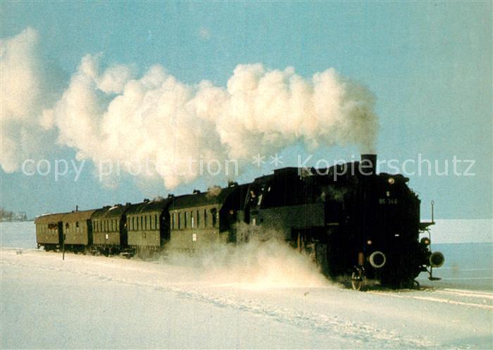 AK / Ansichtskarte Lokomotive Museumszug Gueterzug Tenderlokomotive 86346  Kat. Eisenbahn