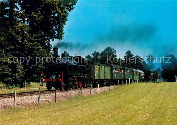 AK / Ansichtskarte Lokomotive Tenderlokomotive 378.32 Moosrain Kat. Eisenbahn