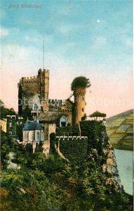 AK / Ansichtskarte Trechtingshausen Burg Rheinstein Kat. Trechtingshausen