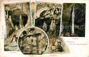 AK / Ansichtskarte Dechenhoehle Ansichten aus der Hoehle Kat. Iserlohn