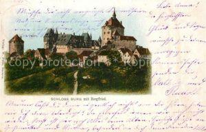 AK / Ansichtskarte Burg Wupper Schloss Burg mit Bergfried Kat. Solingen