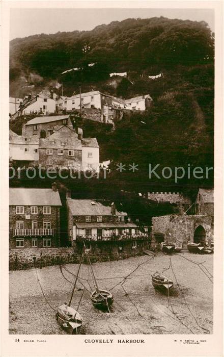 AK / Ansichtskarte Clovelly Harbour