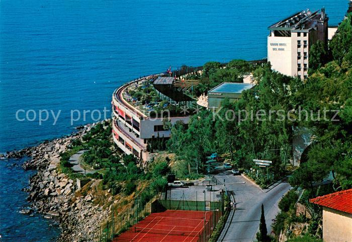 AK / Ansichtskarte Bordighera Grand Hotel del Mare Fliegeraufnahme Kat. Bordighera