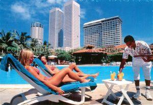 AK / Ansichtskarte Colombo Ceylon Sri Lanka Hilton Colombo Hotel Kat. Colombo