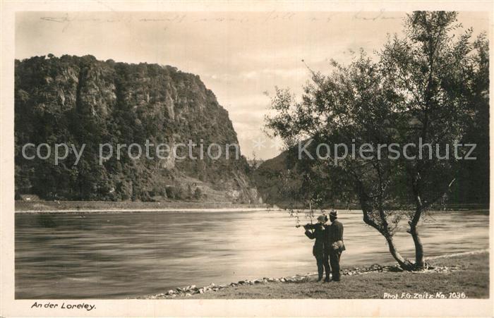 AK / Ansichtskarte Foto Zeitz F.G. Nr. 1036 Loreley  Kat. Berchtesgaden