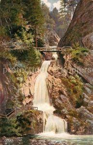 AK / Ansichtskarte Verlag WIRO Wiedemann Nr. 2779 A Allerheiligen Schwarzwald Wasserfall  Kat. Verlage