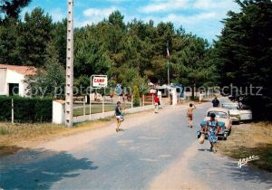 AK / Ansichtskarte Boyardville Le Camp Signol
