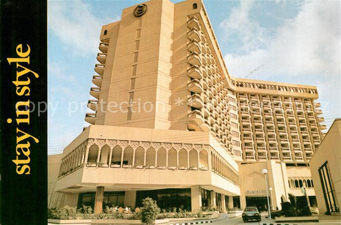 AK / Ansichtskarte Karachi Sheraton Hotel Kat. Karachi