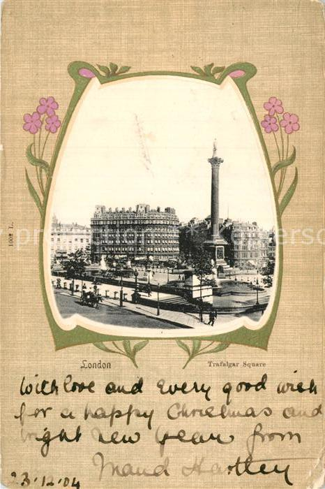 AK / Ansichtskarte London Trafalgar Square Kat. City of London